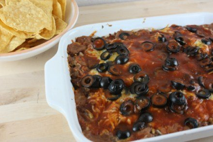 bean and beef bake