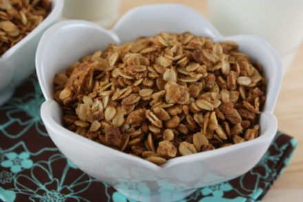 peanut butter granola [pictures]
