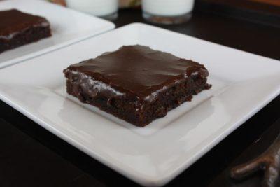 Gluten Free Chocolate Sheet Cake