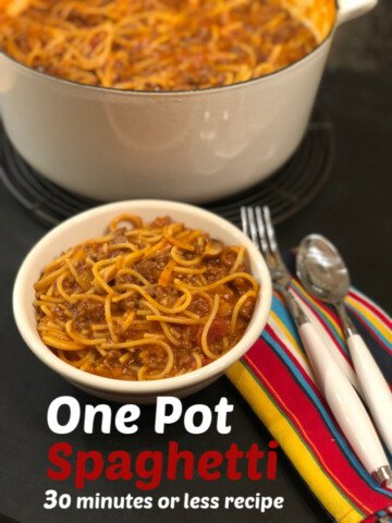 One Pot Spaghetti Recipe