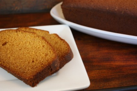 gf pumpkin pudding bread