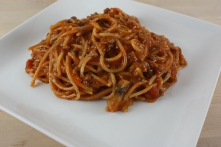 Gluten Free One Pot Spaghetti {Quick and Easy Gluten Free Dinner}