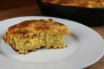 green chili and cheese cornbread