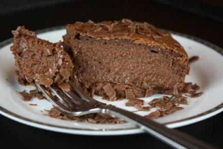 crustless chocolate cheesecake