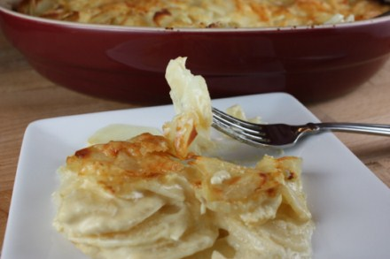 mustard scalloped potatoes