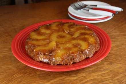 Gluten Free Pineapple Upside Down Cake Cast Iron Pan