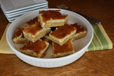 lemon goey bars [pictures]