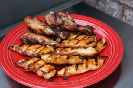 Now on to the recipe for Grilled Chipotle Orange Chicken.