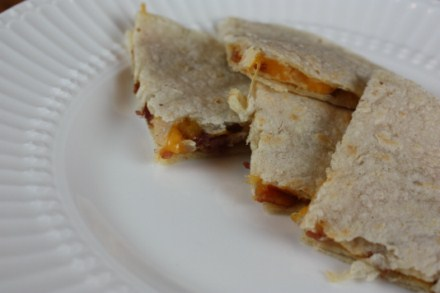 bacon quesdillas