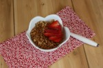 Homemade Strawberry Granola