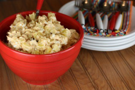 Bacon Chipotle Potato Salad