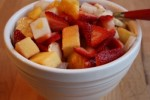 Simple Bowl Of Fruit