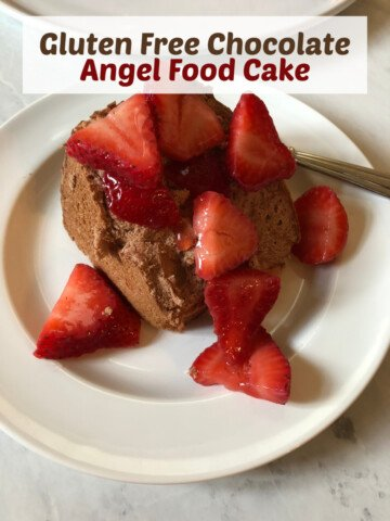 Gluten Free Chocolate Angel Food Cake