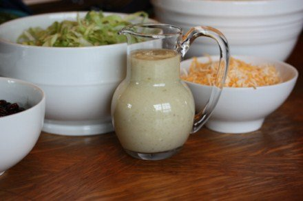Taco Salad With Creamy Green Dressing
