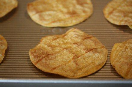 homemade tostada shells