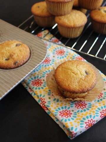 Bakery Style Gluten Free Chocolate Chip Muffins