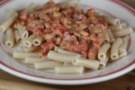 Creamy Bacon and Tomato Pasta