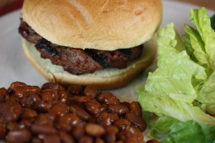 chipotle bacon cheeseburger