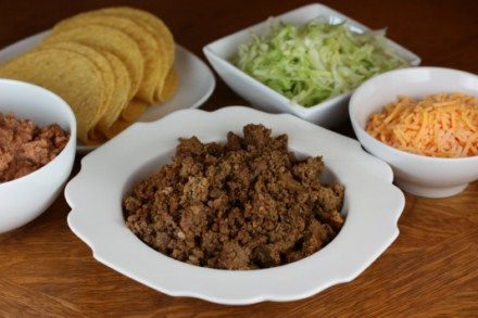 chipotle taco meat