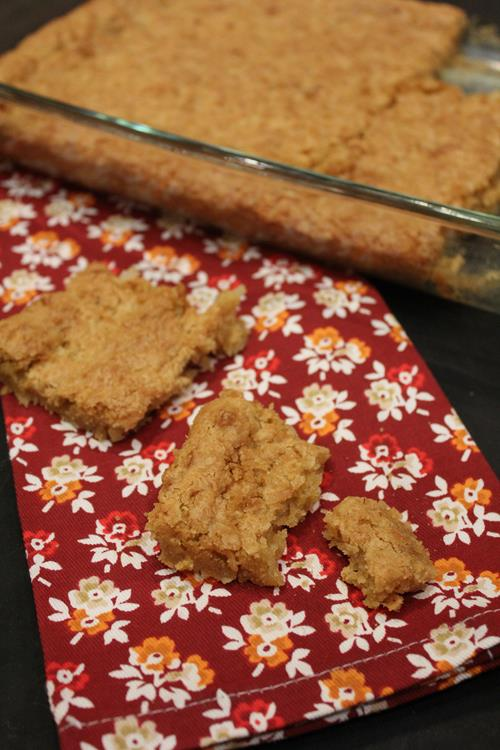 Gluten Free Coconut Bars