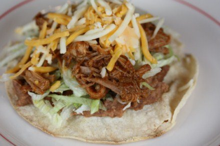 Crock Pot Shredded Chipotle Beef Tacos