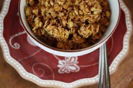 pumpkin granola [pictures]