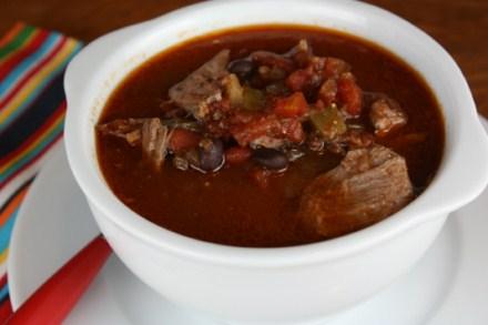 Crock Pot Shredded Beef Chili
