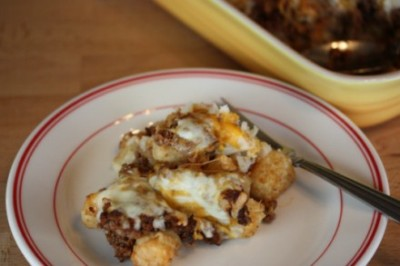 Tater Tot Nachos- Quick and Easy Dinner
