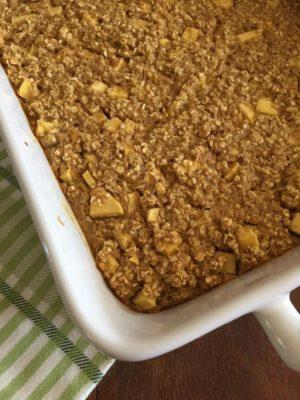 Apple Baked Oatmeal