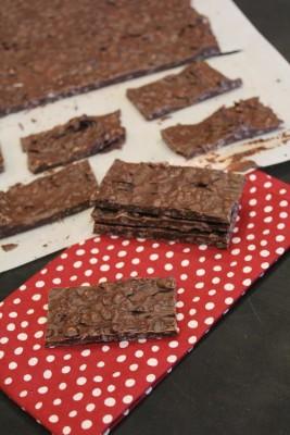 Homemade Nestle Crunch Bars