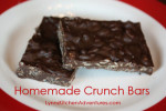 Gluten Free Crunch Bars {30 Days of Gluten Free Candies and Cookies}