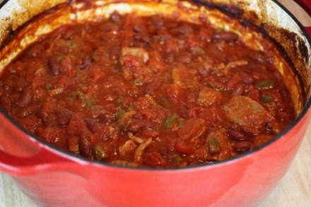Pork red chili recipe