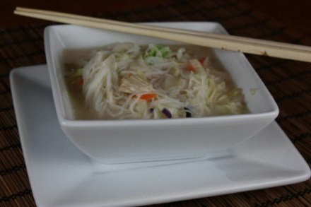coconut asian noodle soup
