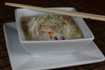 coconut asian noodle soup
