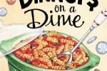 Dinners On A Dime Cookbook and My Kindle