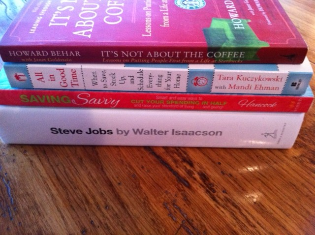 Food Books To Read In 2012
