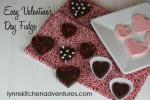 Easy Valentine's Day Fudge