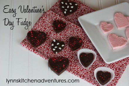 Valentines Day Fudge