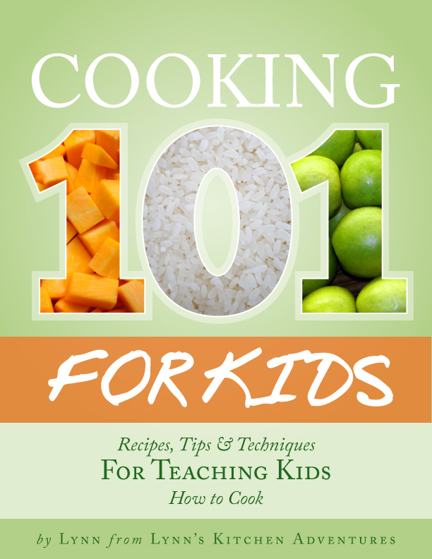 Cooking 101 With Kids ebook Project