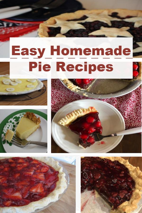 Homemade Pie Recipes