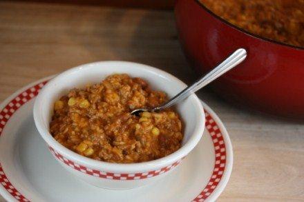 chili rice skillet