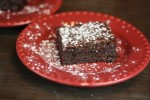 Triple Chocolate Flourless Brownies