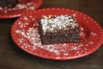 Triple Chocolate Flourless Brownies