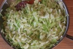 Fried Cabbage {Cooking Through My Collection}