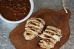 Spicy Buttermilk Grilled Chicken with Bush's Black Bean Fiesta Grillin' Beans