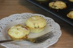 Ham and Cheese Mini Frittatas