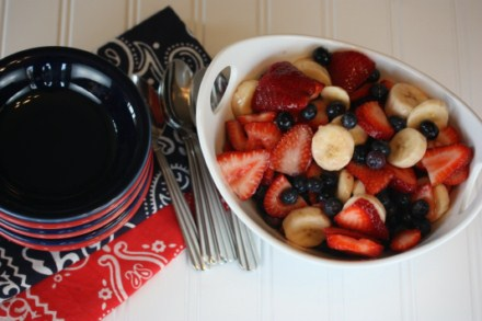 Red White and Blue Fruit Salad 2 [Recipes]