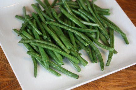 Roasted Green Beans [Recipes]