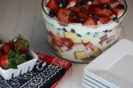 White Chocolate Berry Trifle