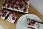 Chocolate Creme Cheese Raspberry Brownies and Please Help and Vote By Leaving a Comment